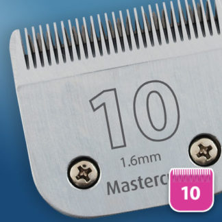 Dog grooming clipper blade no. 10 mastercut