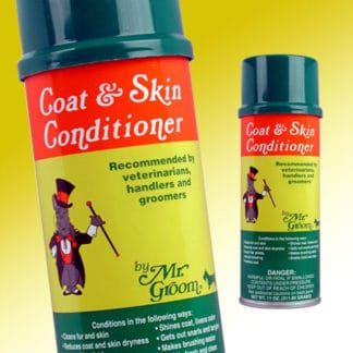 dog grooming mr groom coat and skin conditioner